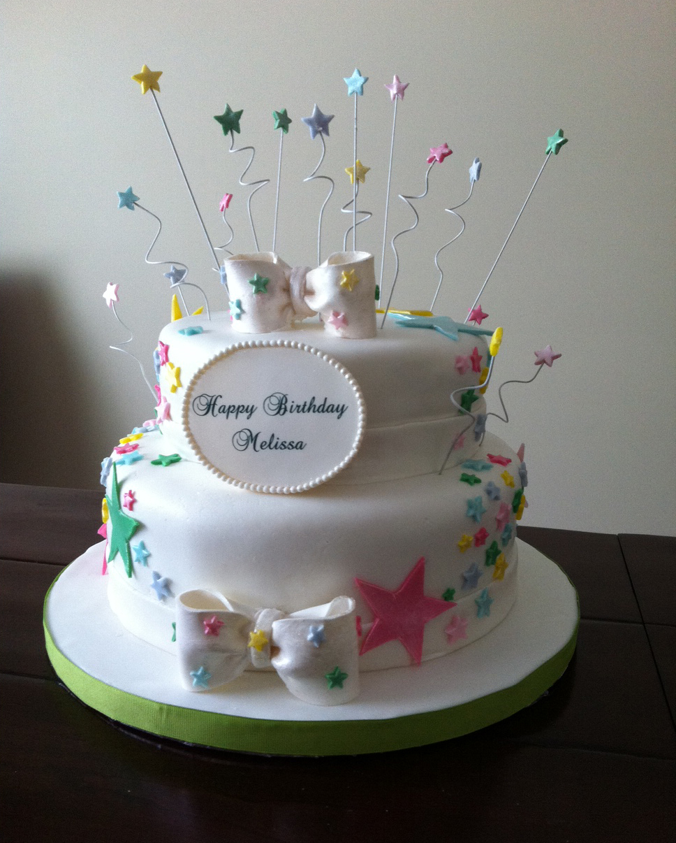 A Star Birthday Cake Maddies Cakes