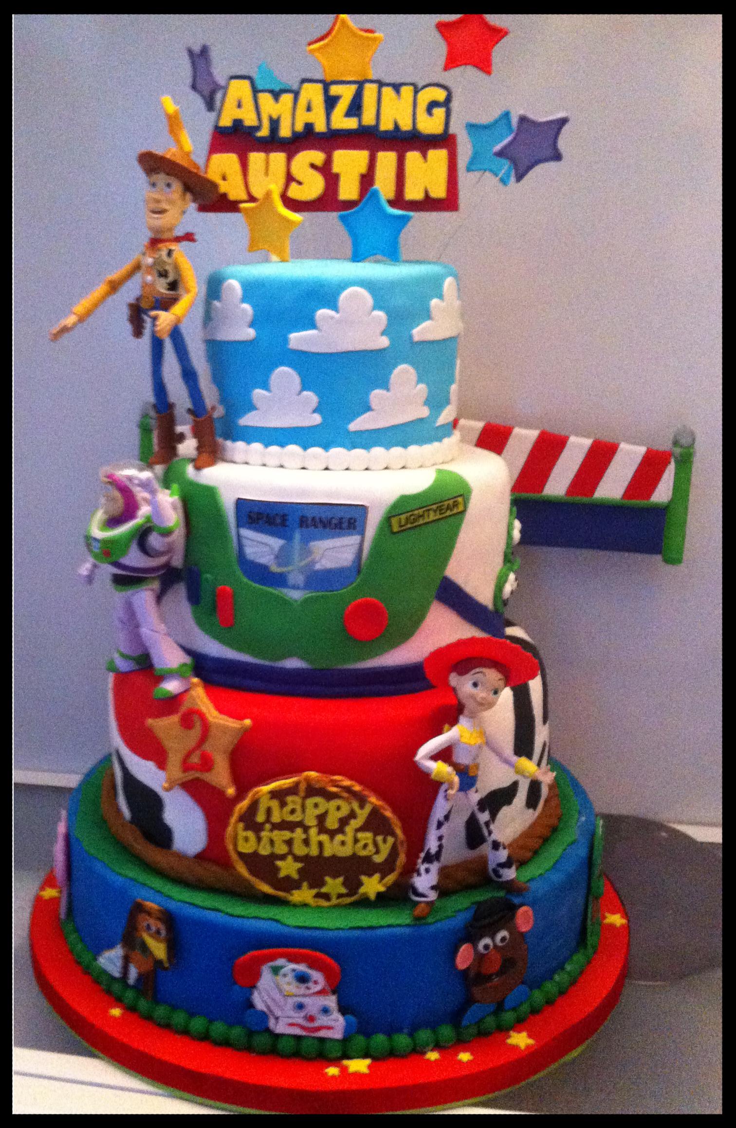 Amazing Austins Toy Story Birthday Cake Maddies Cakes