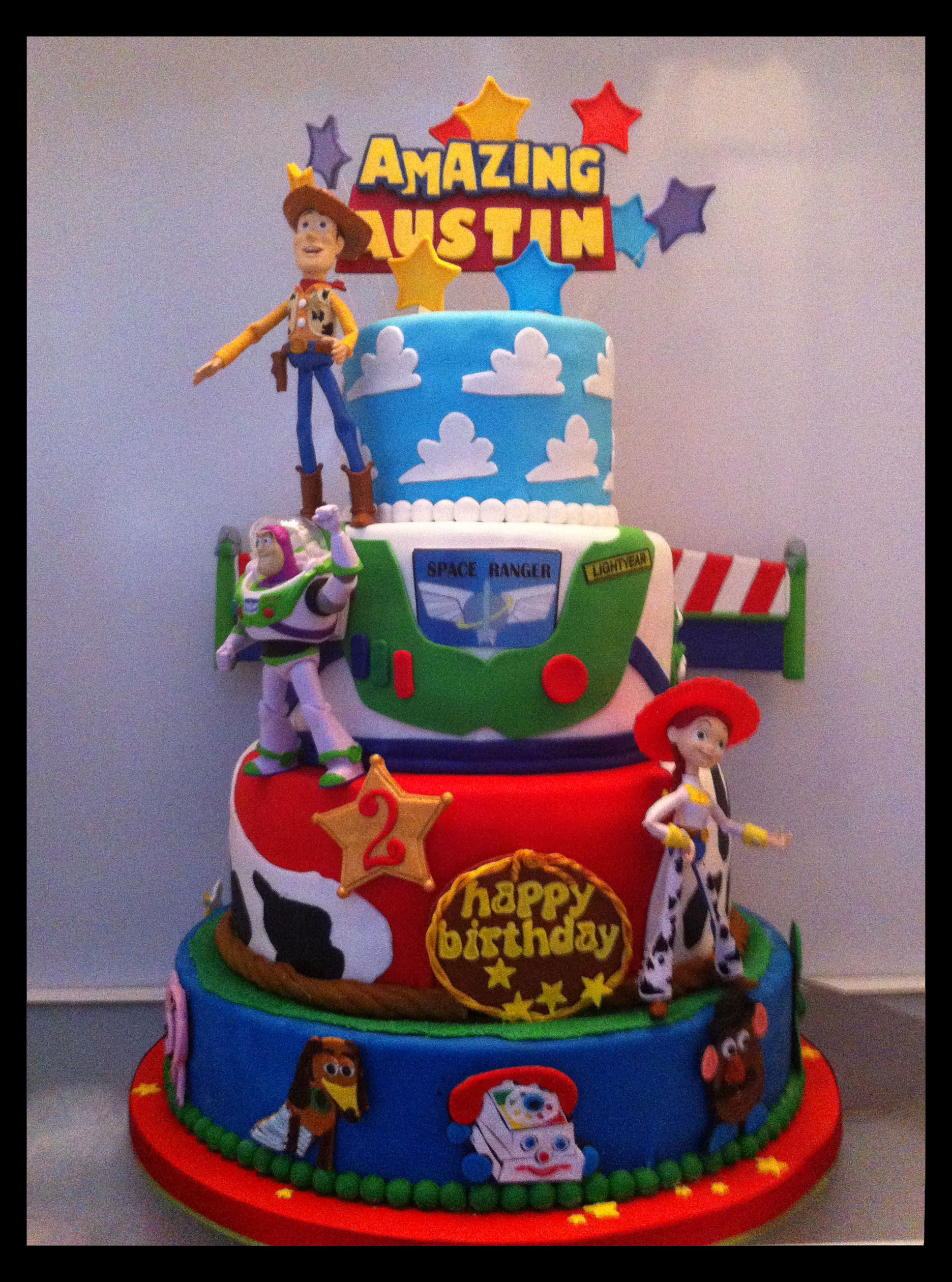 Amazing Austins Toy Story Birthday Cake Maddies Cakes