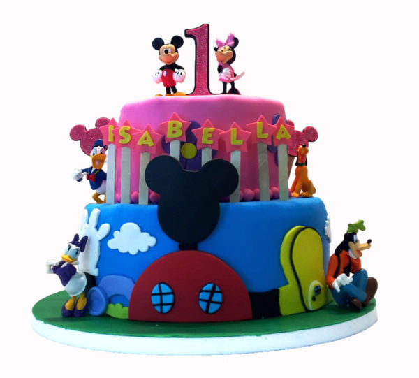 Mickey Mouse Clubhouse Custom Birthday Cake Maddies Cakes